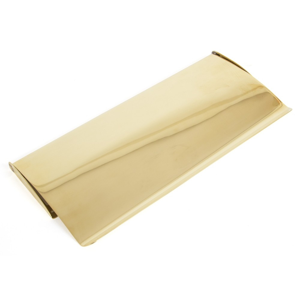 Polished Brass Small Letter Plate Cover