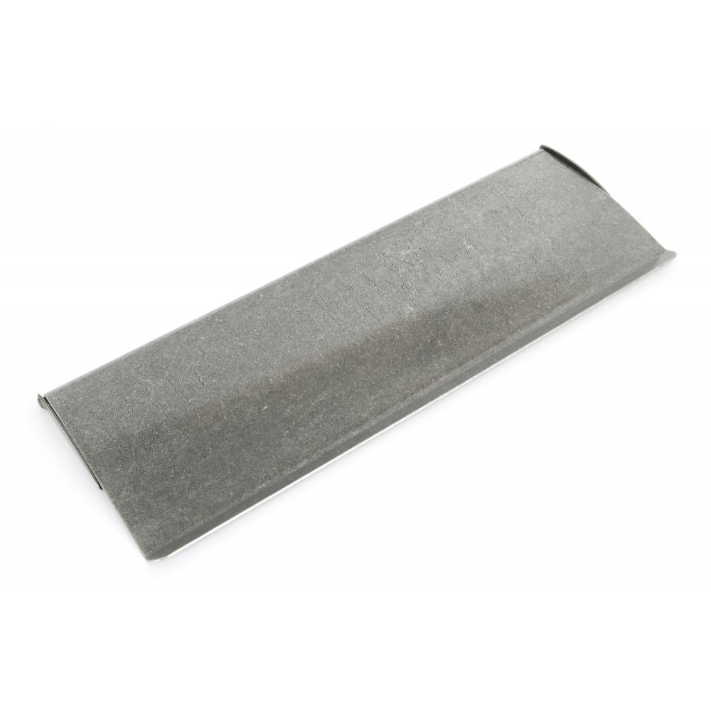Pewter Large Letter Plate Cover