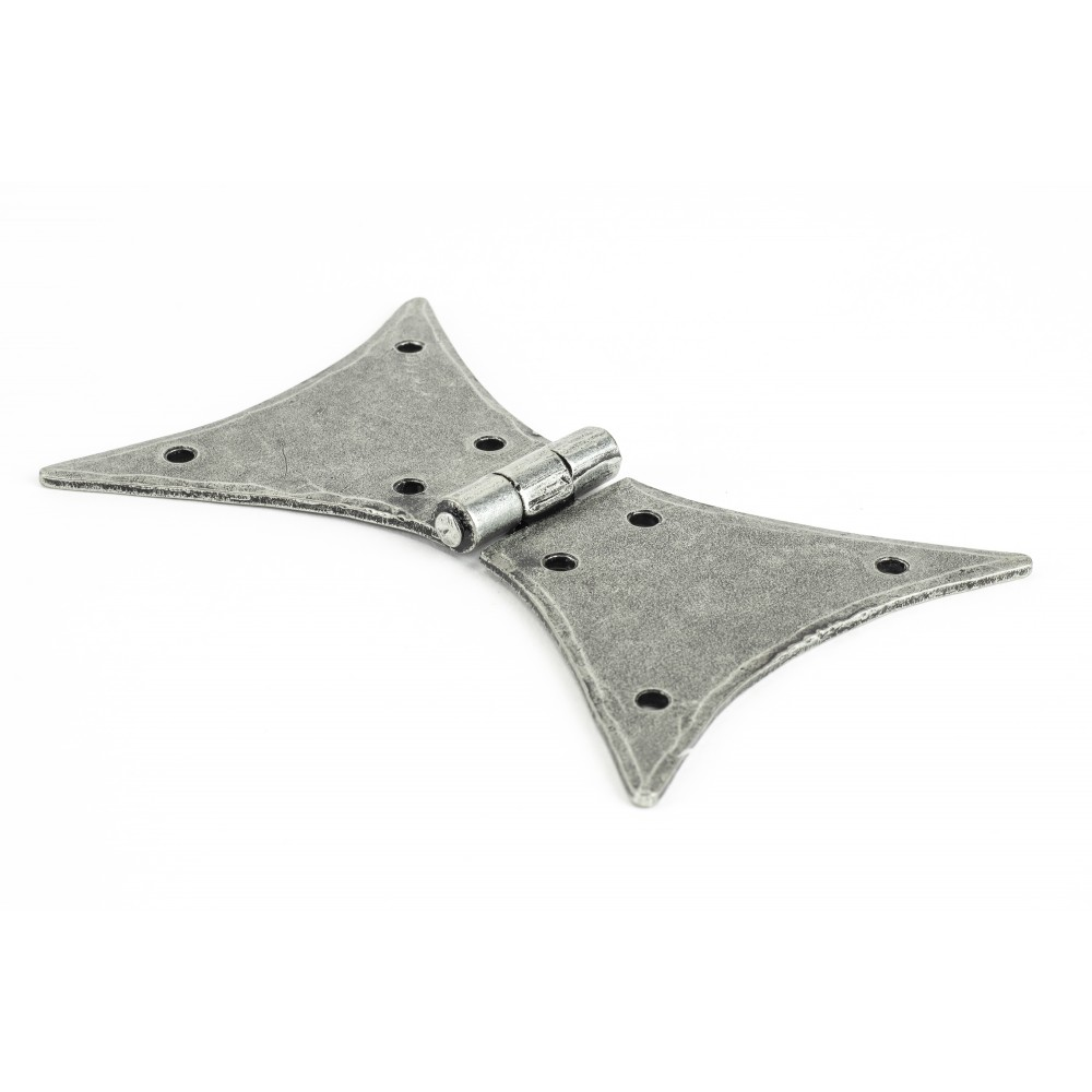 """Pewter 5"""" Butterfly Hinge (pair)"""