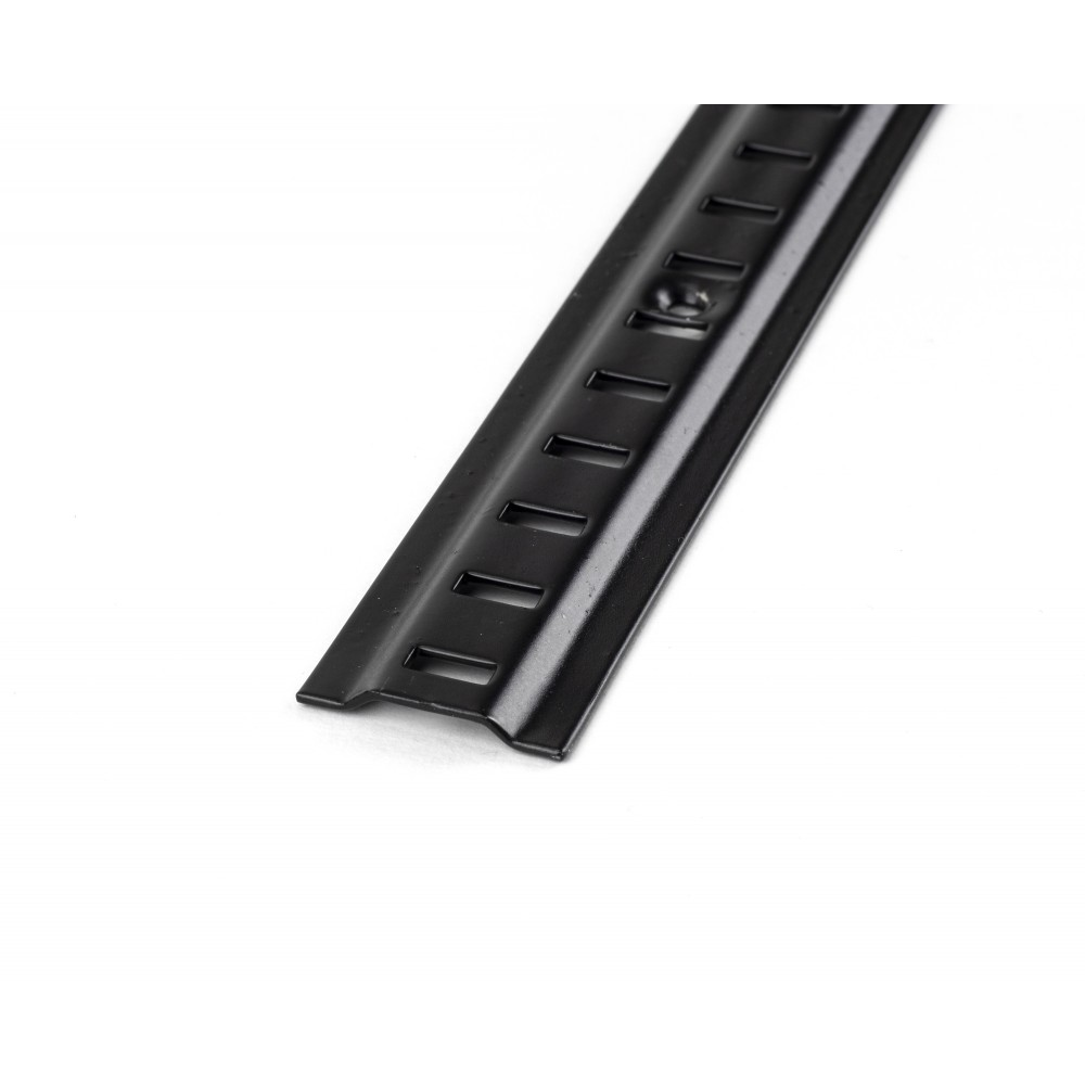 Black Raised Bookcase Strip 1.83m
