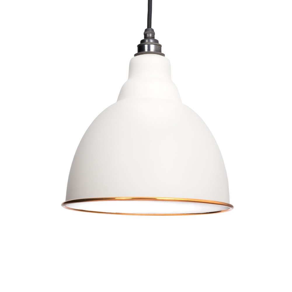 Oatmeal & White Interior Brindley Pendant