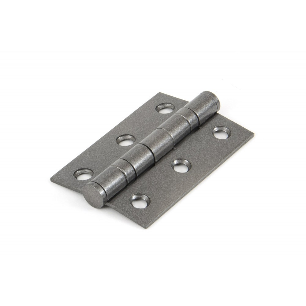 "Pewter 3"" Ball Bearing Butt Hinge (Pair)"