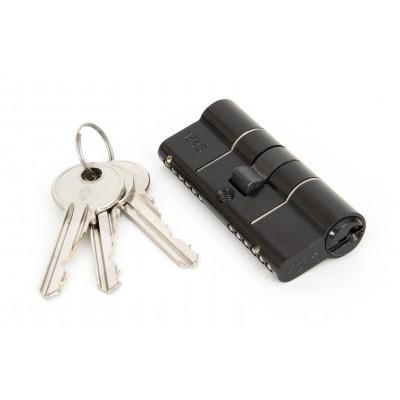 Black 35/35mm Euro Cylinder Lock - KA