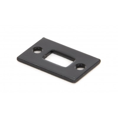 "Black Mortice Plate for 4"" Cranked Bolt"