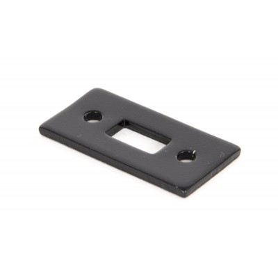 "Black Mortice Plate for 6"" Cranked Bolt"