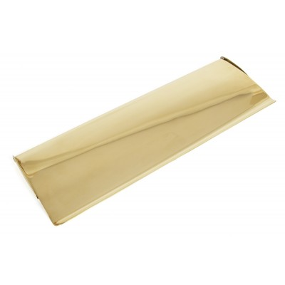 Polished Brass Large Letter Plate Cover