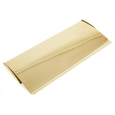Polished Brass Small Letterplate Cover
