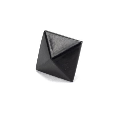 Black Pyramid Door Stud - Medium
