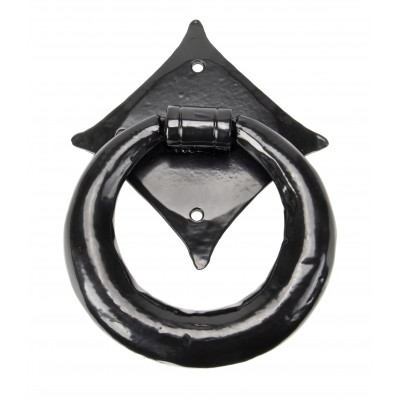 Black Ring Door Knocker