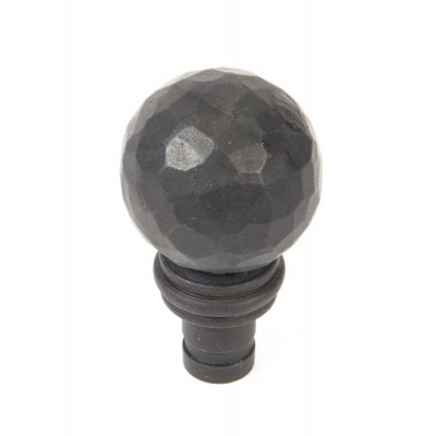 Beeswax Hammered Ball Curtain Finial (pair)