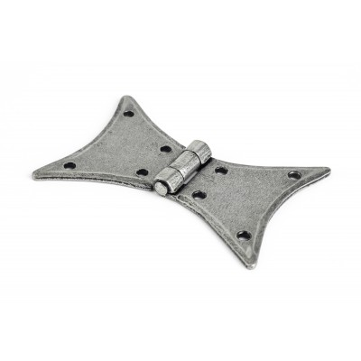 Pewter 3'' Butterfly Hinge (pair)