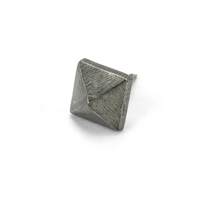Pewter Pyramid Door Stud - Small