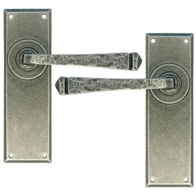 Pewter Avon Lever Latch Set