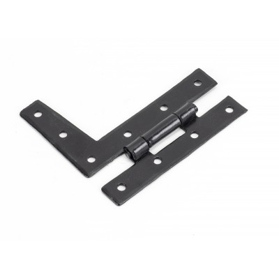 Black 3 1/4'' HL Hinge (pair)
