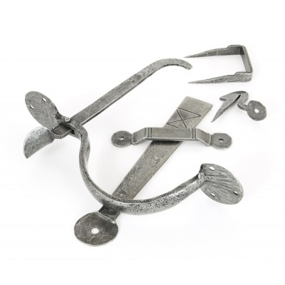 Pewter XL Medium Bean Thumblatch