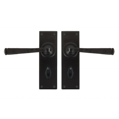 Black Avon Lever Bathroom Set