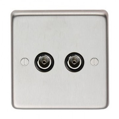 SSS Double TV Socket