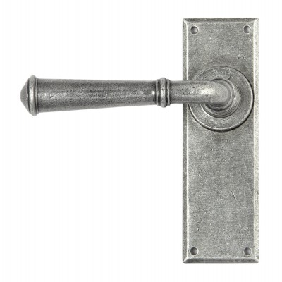 Pewter Regency Lever Latch Set