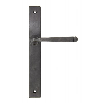 External Beeswax Avon Slimline Lever Latch Set