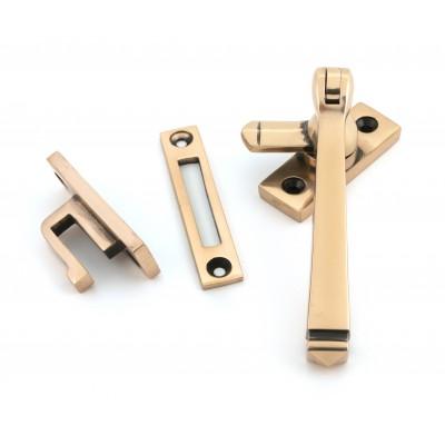 Polished Bronze Locking Avon Fastener