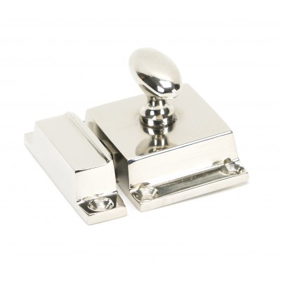 Polished Nickel Cabinet Latch