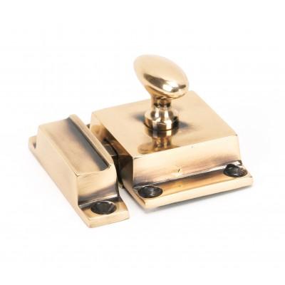 Polished Bronze Cabinet Latch