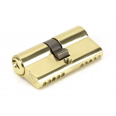 Lacquered Brass 30/30 5pin Euro Cylinder KA
