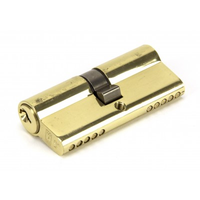 Lacquered Brass 35/35 5pin Euro Cylinder KA