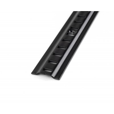 Black Raised Bookcase Strip 1.83m