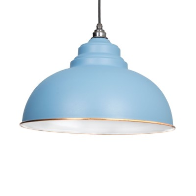 Pale Blue & White Interior Harborne Pendant