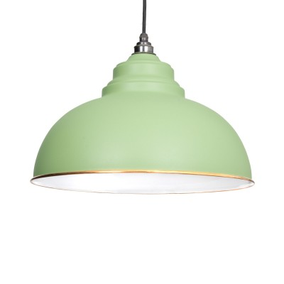 The Harborne Pendant in Sage Green