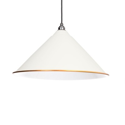 Oatmeal & White Interior Hockley Pendant