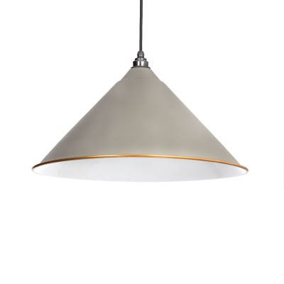 The Hockley Pendant in Warm Grey