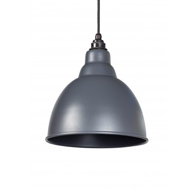 Dark Grey Full Colour Brindley Pendant