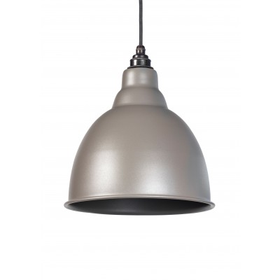 Warm Grey Full Colour Brindley Pendant