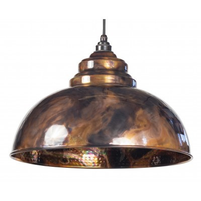 Burnished Harborne Pendant