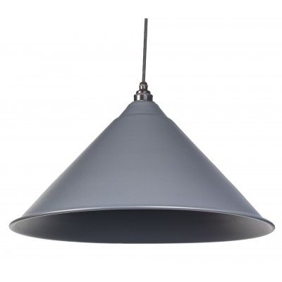 Dark Grey Full Colour Hockley Pendant