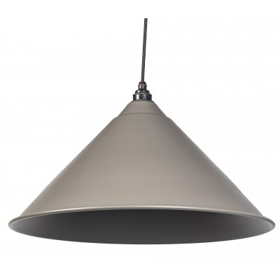 Warm Grey Full Colour Hockley Pendant