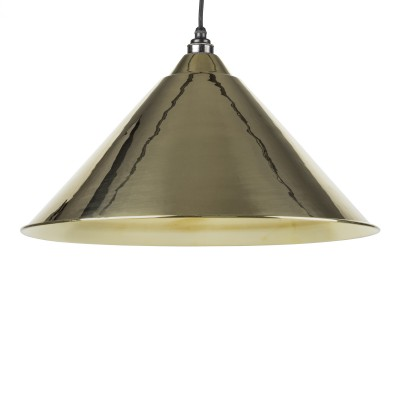 Smooth Brass Hockley Pendant