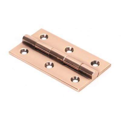 "Polished Bronze 2.5"" Butt Hinge (pair)"