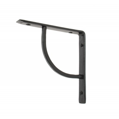 Black 6'' x 6'' Plain Shelf Bracket