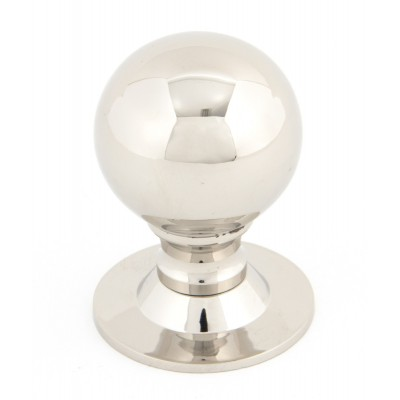 Polished Nickel Ball Cabinet Knob - Large