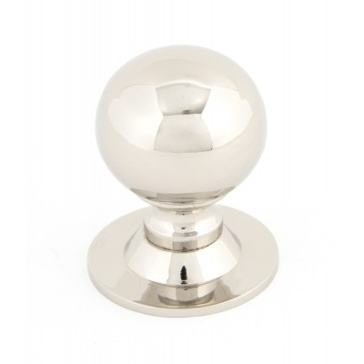 Polished Nickel Ball Cabinet Knob - Small