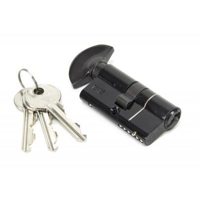 Black 30/30mm Euro Thumbturn - KD