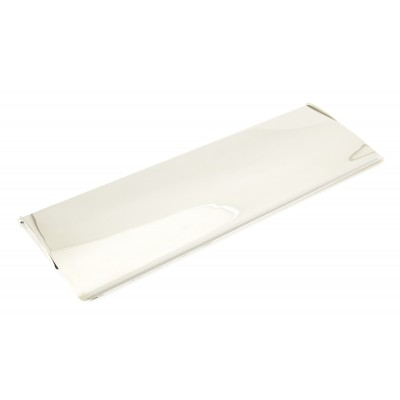 Polished Nickel Large Letter Plate Cover