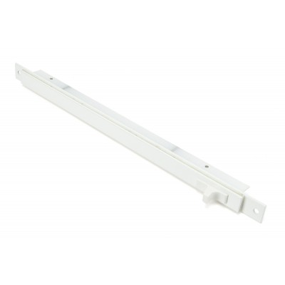 White Medium Aluminium Trickle Vent 288mm