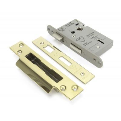 "PVD 2½"" BS Heavy Duty Sash Lock"