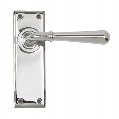 Polished Chrome Newbury Lever Latch Set