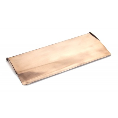Polished Bronze Small Letter Plate Cover