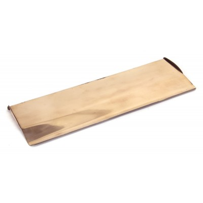 Polished Bronze Large Letterplate Cover
